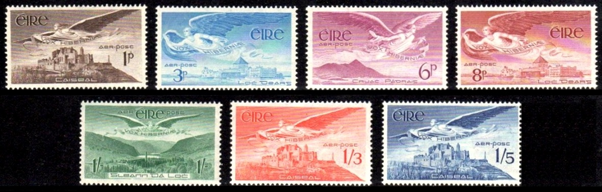 Airmail stamps