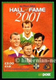 2001 £3 GAA Hall of Fame s/a **