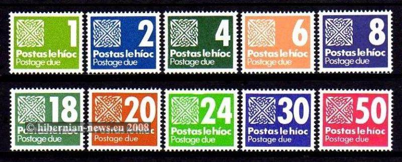 1980-85 Set 1p - 50p **