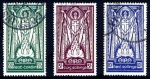 1937 St. Patrick high values 2/6 - 10/- fine used