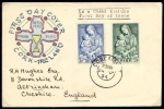 1954 Marian Year set on First Day cover