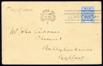1922-23 Wmk. Se 3d blue, Dublin First Day machine cancelation