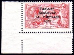 1922 Thom 4-line on 5/- rose red