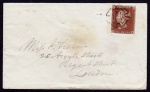 1843 Cover with Dublin type II MX