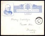 Forerunner: 1890 Correspondence card