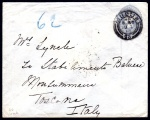Forerunner: GB 1892 Court size envelope 2½d without wmk.