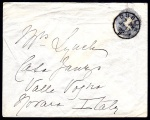 Forerunner: GB 1892 Court size envelope 2½d with wmk.