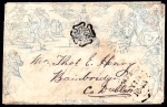 1840 Mulready 2d Envelope Forme a208