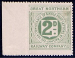 Great Northern Railway Company 1891-1912 2d Die II