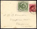 Glasgow & South Western Railway 1904 2d dull green