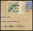 Great Northern Railway 1907 2d grey-green