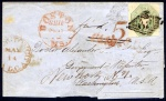 1848 Entire to Washington DC with BOSTON / SHIP