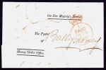 1849 OHMS Money Order Office wrapper