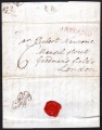 1796 EL Dublin to London with very fine IRELAND in red