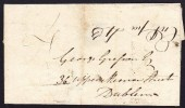 1839 Uniform Fourpenny Post from Gort to Dublin