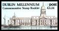 1988 £2.24 Dublin Millenium **